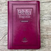 Bíblia Sagrada Letra Gigante - RC - Purpura Nobre