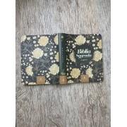 Sua Bíblia Sagrada - NVI - com espaço para anotações - couro soft - Flores