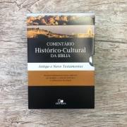 Box Comentário histórico-cultural da Bíblia - Antigo e Novo Testamento