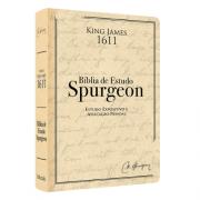 PRÉ-VENDA: Bíblia de Estudo Spurgeon - Estudo expositivo e aplicação pessoal - Bege - FRETE GRÁTIS