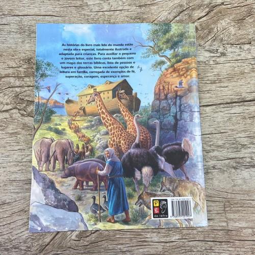 A bíblia das crianças - histórias antigo e novo testamento - Capa brochura