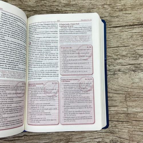 A Bíblia do Pregador - Pequena - Azul - RC
