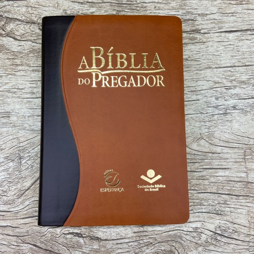 A Bíblia do Pregador - Pequena - Marrom - RC