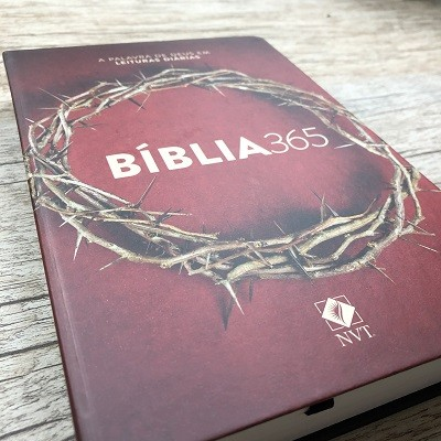 Bíblia 365 Coroa - NVT - Letra normal