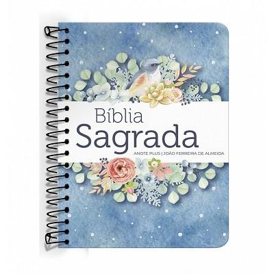 Bíblia Anote Plus ARC espiral - Pontos de Luz + Brinde