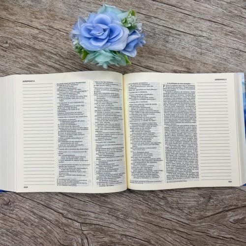 Bíblia com espaço para anotações NVI - Meu Desejo