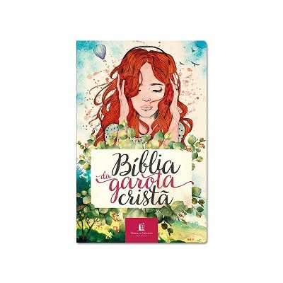 Bíblia da Garota Cristã   NTLH   Capa Aquarela