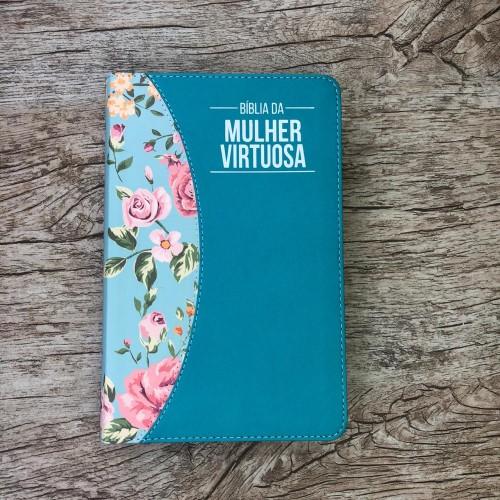 Bíblia De Estudo Da Mulher Virtuosa - Tiffany