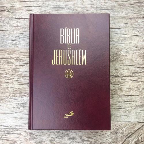 Bíblia de Jerusalém - capa dura Grande