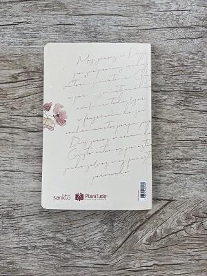 Bíblia Floral Creme - NVI - Letra Normal - Capa Flexível