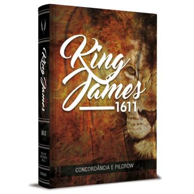 Bíblia King James 1611 Com Concordância (Leão) BKJ 1611 Com Concordância, Palavras de Jesus em Vermelho e Pilcrow