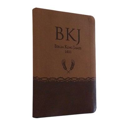 Bíblia King James 1611 (Ultrafina - Marrom) BKJ 1611