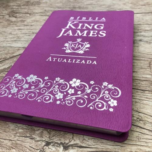 Bíblia King James Atualizada Slim - Lilás