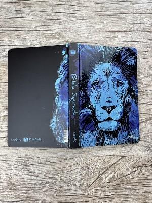 Bíblia Leão Azul - NVI - Letra Normal - Capa Flexível