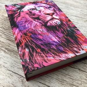 Bíblia NTLH YouVersion - The Lion Rosa - Letra Normal
