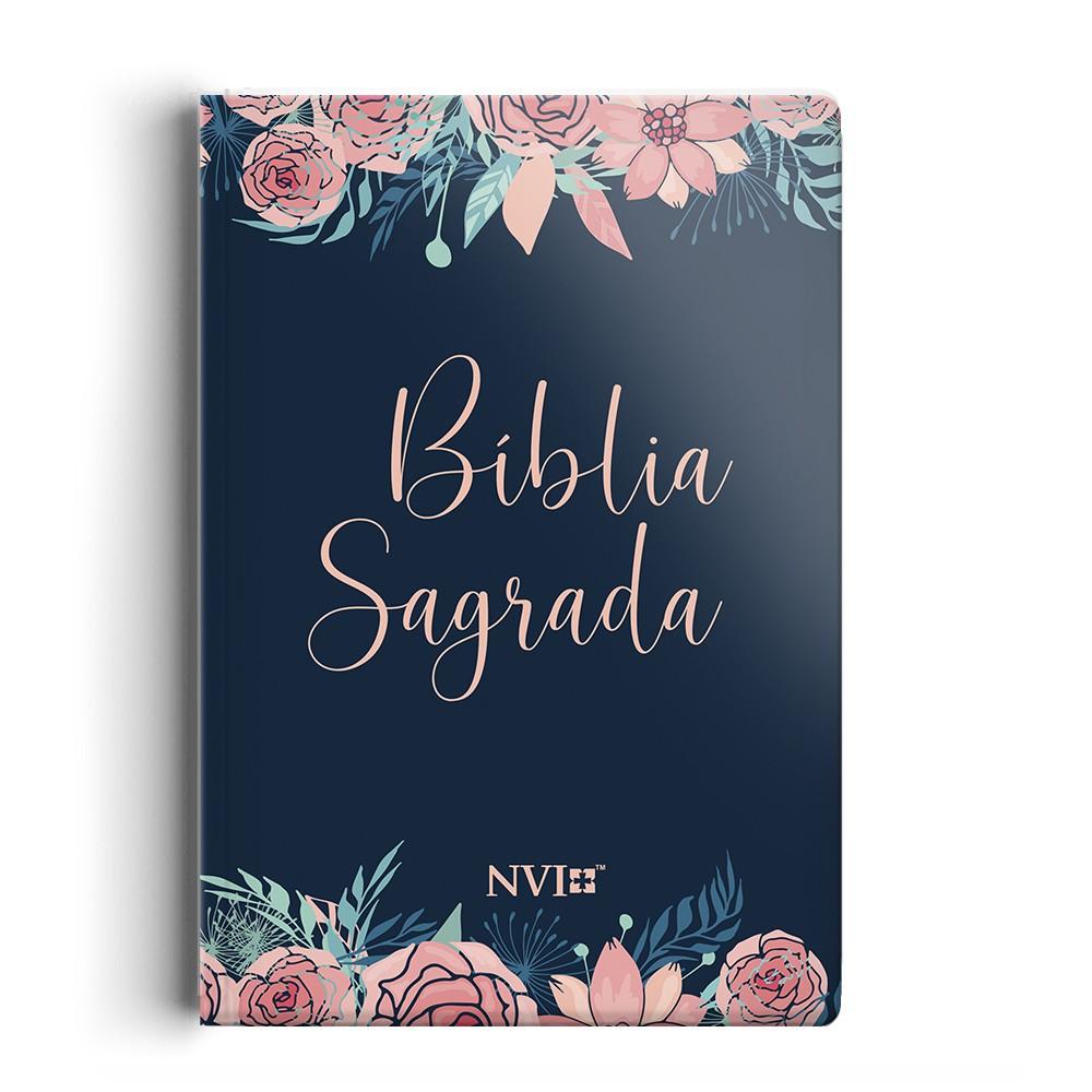Bíblia NVI - Especial - Rosas - NT duas cores