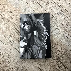 Bíblia NVT 960 - Lion Colors Black e White