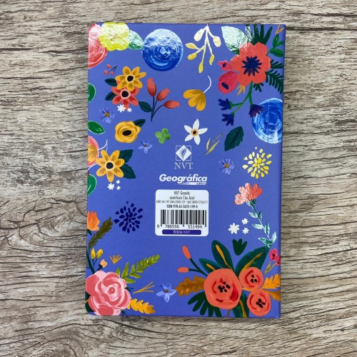 Bíblia NVT semi-luxo Céu Azul