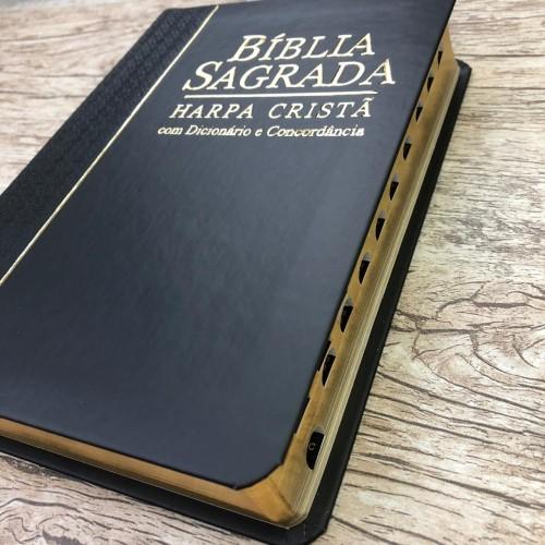 Bíblia Sagrada Com Harpa Cristã - Letra Grande - Rc
