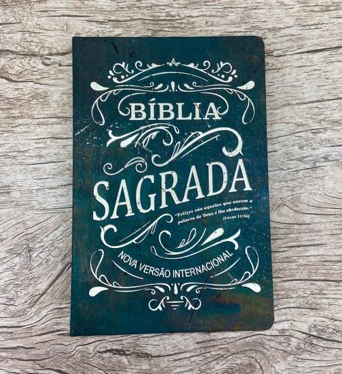 Bíblia Sagrada - Felizes - NVI -letra normal - capa dura