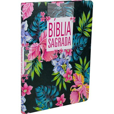 Bíblia Sagrada  Floral - ultrafina NAA - Nova Almeida Atualizada
