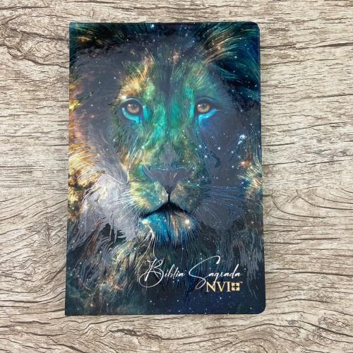 Bíblia Sagrada - Leão Constelação - NVI - letra normal - Capa dura