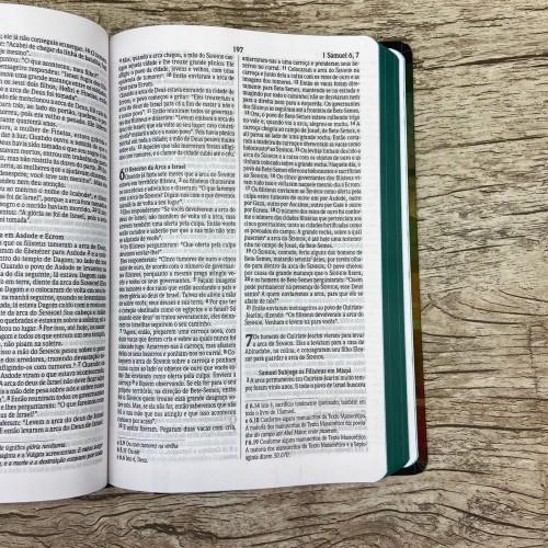 Bíblia Sagrada NVI - Leão Geométrico - Letra normal - Capa Dura
