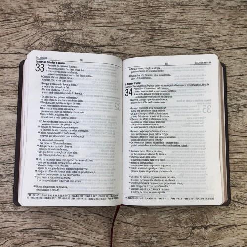 Bíblia Sagrada - Rosas - NAA - Capa Dura