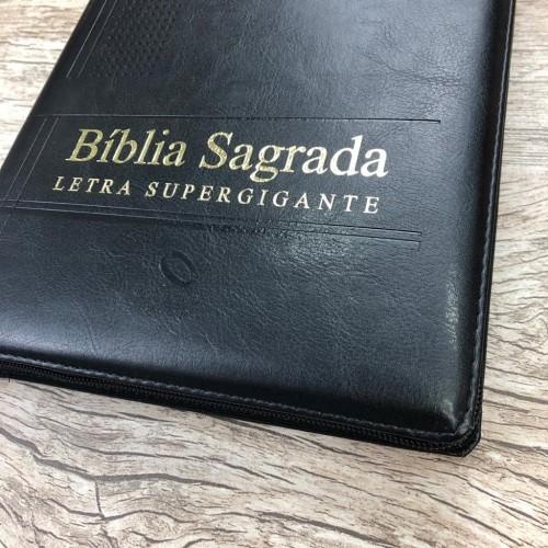 Bíblia Sagrada Supergigante NAA - Preta