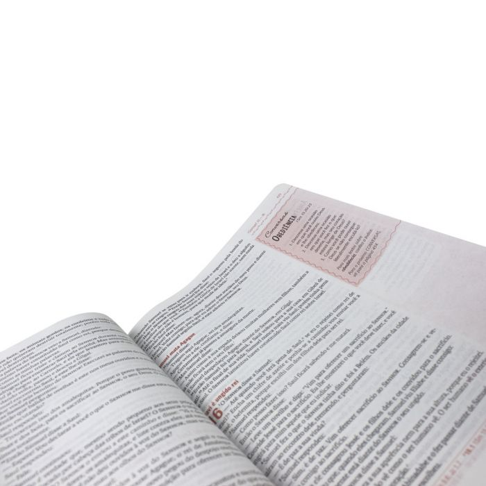 Bíblia Sagrada Verdadeira Identidade - capa floral