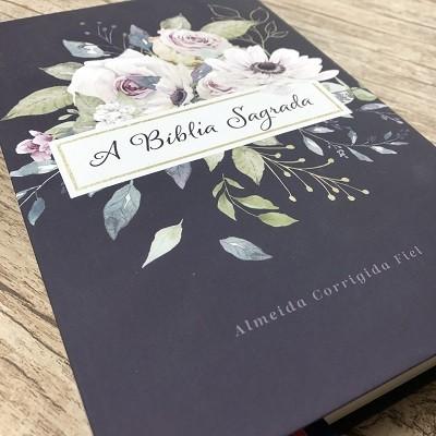 Bíblia Sagrada - Violeta - Letra Grande - ACF