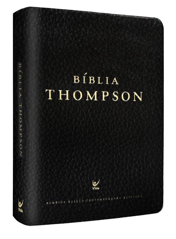 Bíblia Thompson AEC – capa couro sintético preto