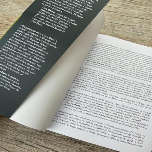 Gramática Instrumental Do Hebraico Edição Atualizada
