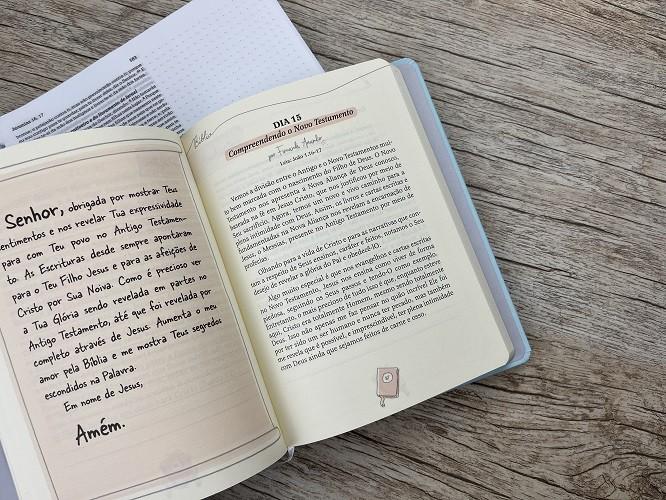 Kit Bíblia Anote NVI Cálamo e Canela + Devocional Simplificando o Secreto - Frete Grátis