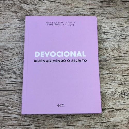 Kit Desenvolvendo o Secreto + Bíblia NVI Magnólia *envio a partir do dia 01/06*