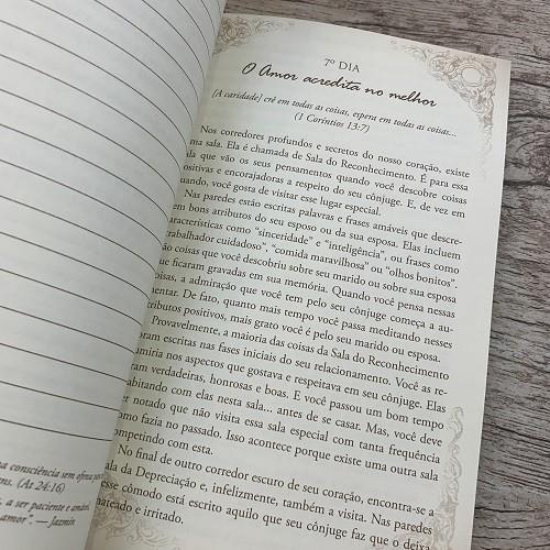Kit O Desafio de Amar: Livro + Devocional + Cartões o Desafio de amar 40 dias