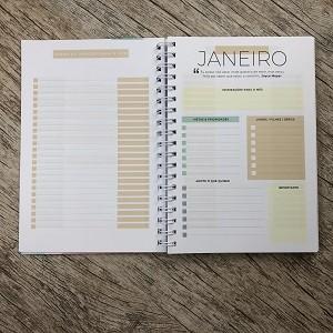 Kit Planner + Bíblia da Vida Diária Joyce Meyer / Geométrica