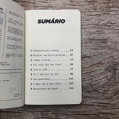 Livro - 3 Dias no Barco - André Fernandes