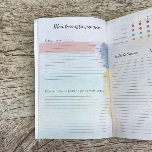 Meu diário de Fé - Masculina