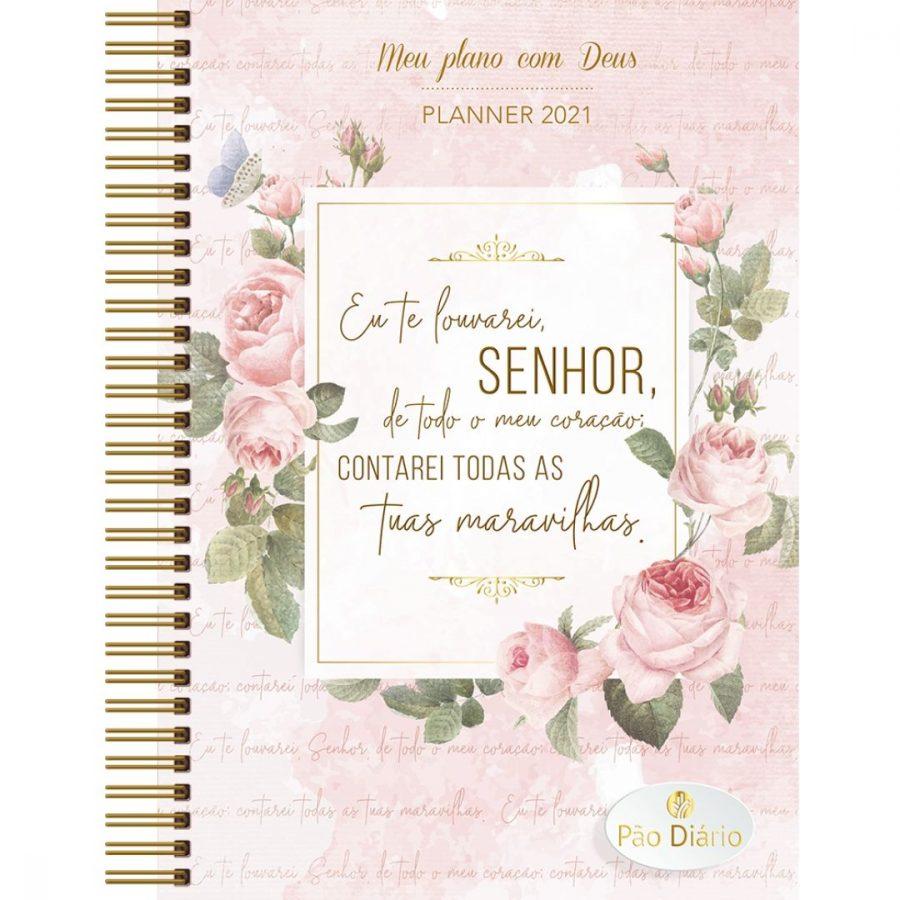 Meu plano com Deus — Planner 2021 Contarei tuas maravilhas