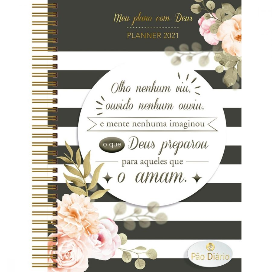 Meu plano com Deus — Planner 2021 O que Deus preparou