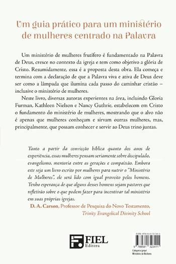 Ministério de Mulheres  - Amando e servindo a igreja por meio da Palavra -  GLORIA FURMAN , KATHLEEN NIELSON