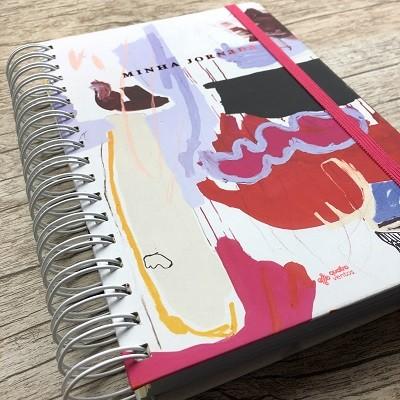Planner Minha Jornada - Capa Artística