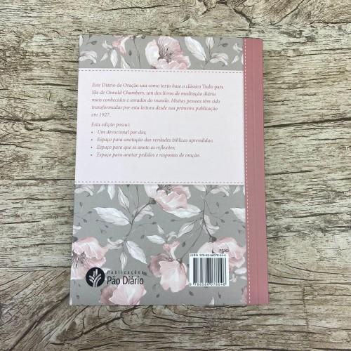 Tudo Para Ele  Diário de Oração  Feminino - Capa Brochura