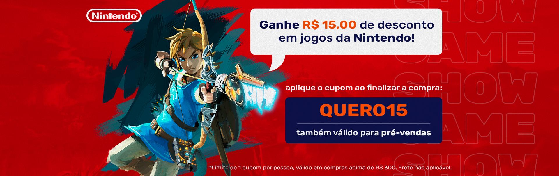 Cupom Nintendo