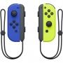 Controle Nintendo Switch Joy Con Azul Amarelo Neon