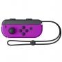 Controle Nintendo Switch Joy Con Roxo e Laranja Neon