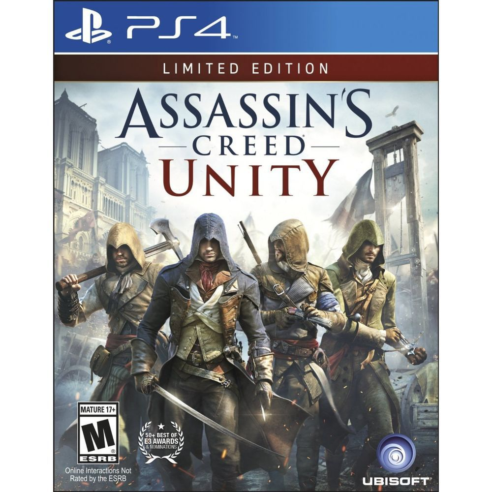 ASSASSIN'S CREED UNITY LIMITED EDITION - PS4