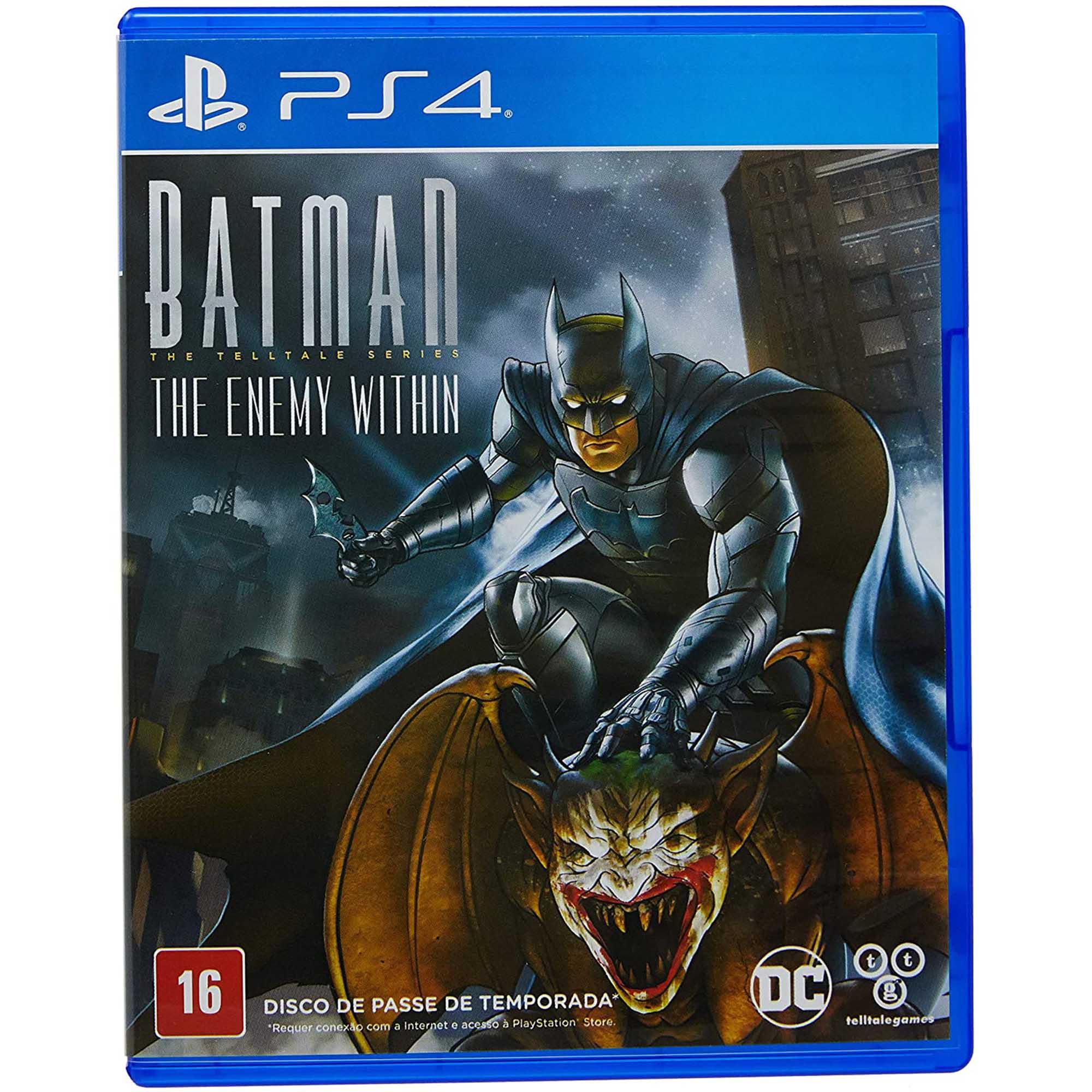 Batman The Enemy Within - PS4 - Mídia Física