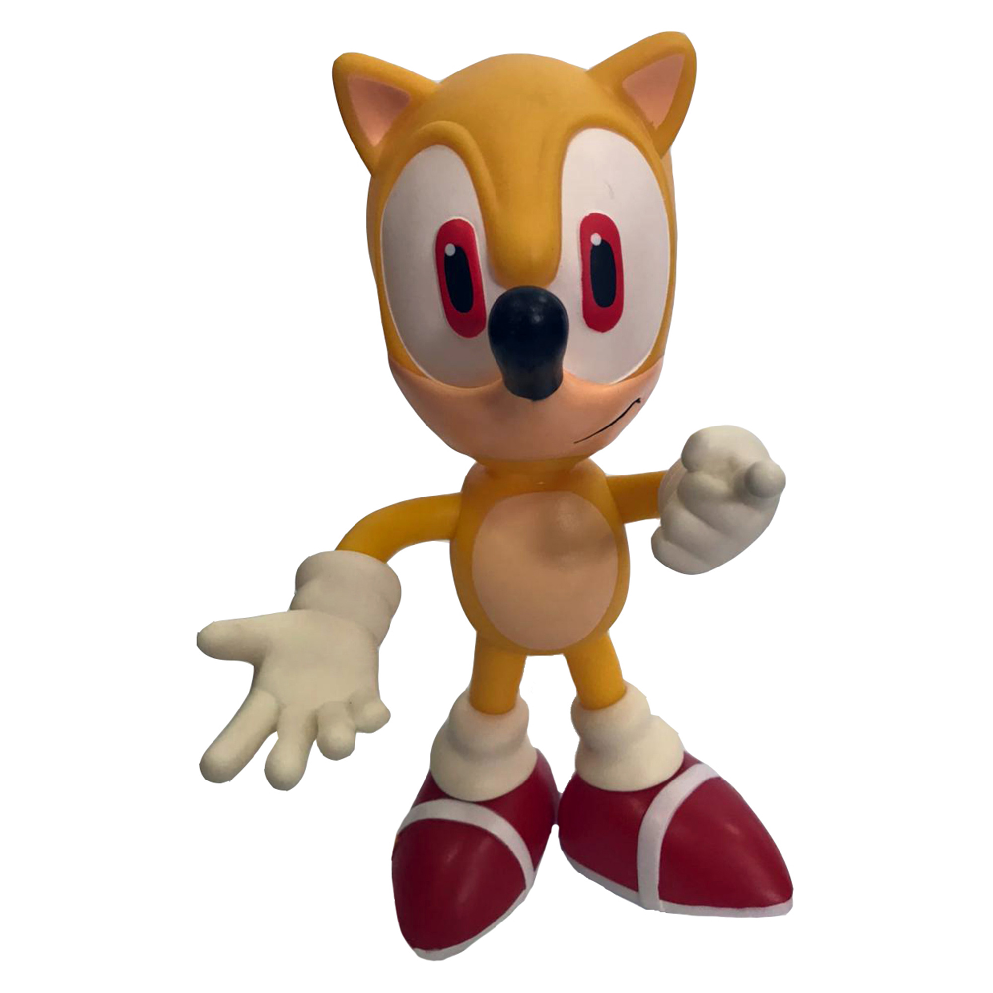 Boneco Sonic Amarelo